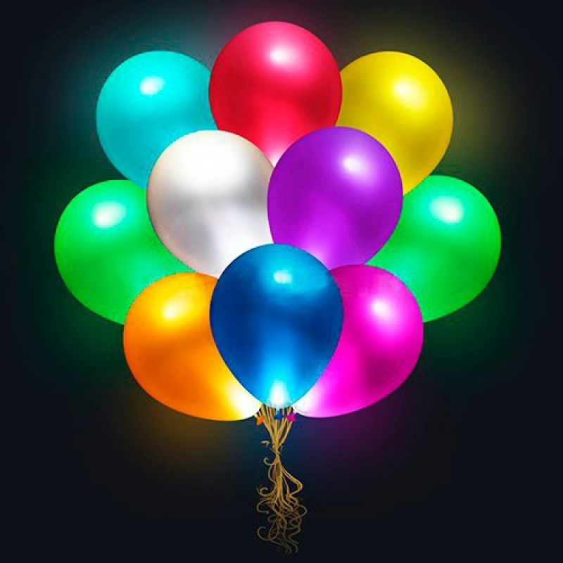 """Воздушные шары """"Светящиеся""""с пультом ДУ (фото 3)"""