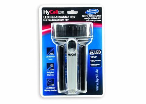 Фонарь рабочий  HS9 HyCell  LED + 4 батарейки D