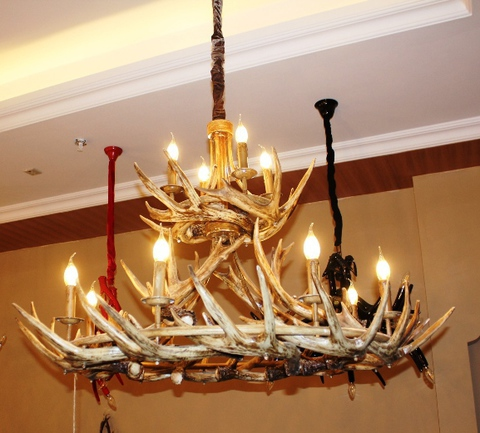 ROLL&HILL Superordinate Antler Chandelier - 5