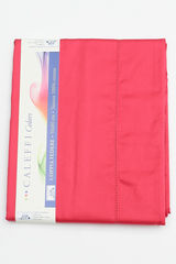 Простыня на резинке 180x200 Сaleffi Raso Tinta Unito с бордюром сатин ярко-розовая