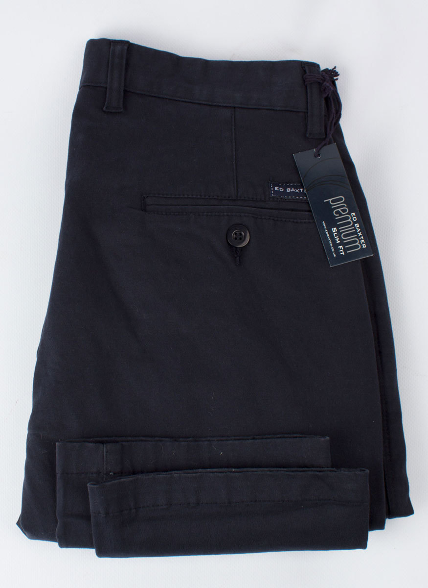 Брюки чинос Ed Baxter Прямые EB340/384_navy_regular