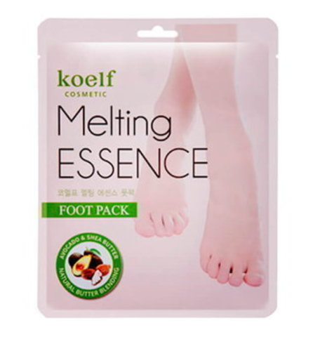 Koelf Маска-носочки для ног смягчающая Melting Essence Foot Pack, 16 г