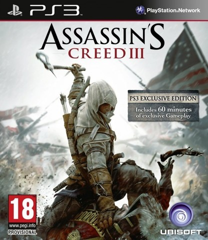 PS3 Assassin's Creed III (русская версия)
