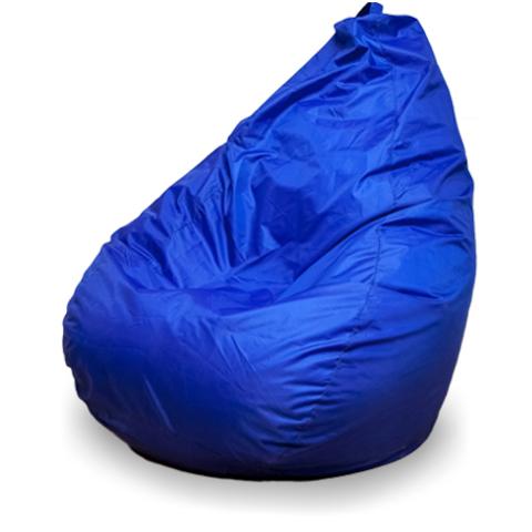 Бескаркасное кресло «Груша» XL, Синий