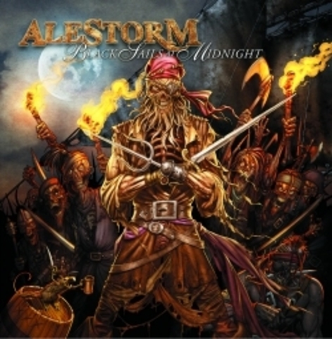 ALESTORM   BLACK SAILS IN THE MIDNIGHT  2009