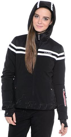 Горнолыжная куртка Hyra Black-White HLG3385 женская Распродажа