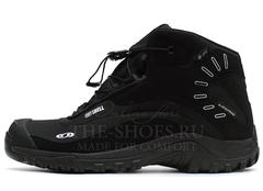 Ботинки Мужские Salomon SOFTSHELL Mid Black
