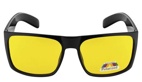 Очки с желтыми поляризованными линзами. Артикул А01