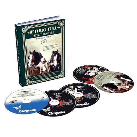 Jethro Tull / Heavy Horses (New Shoes Edition)(3CD+2DVD)