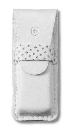 Чехол кожаный белый (шт.) 4.0762.7, для ножей-брелоков Classic и TOMO
