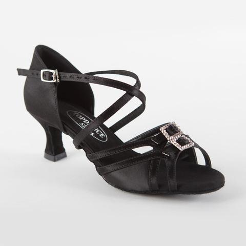 Туфли для латины с регулировкой полноты стопы арт.S297b5