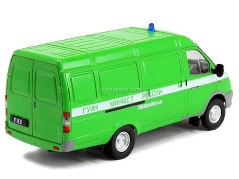 GAZ-2705 Gazelle FSIN Prison Russia 1:43 DeAgostini Service Vehicle #41