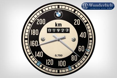 Настенные часы в виде спидометра BMW
