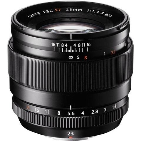 Объектив Fujinon XF 23mm f/1.4 R Black для Fujifilm X