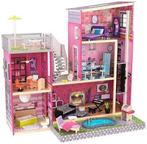 KidKraft Роскошная вилла - кукольный домик с бассейном 65833