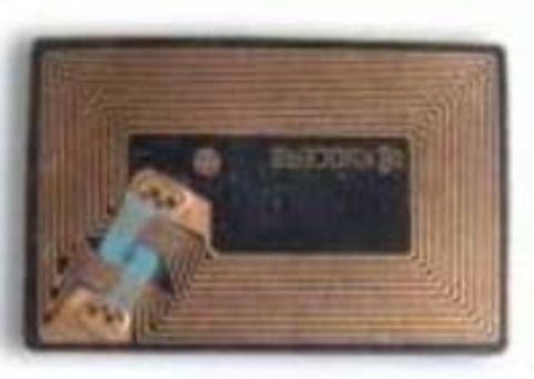 Чип TK-825/827-Y желтый для принтеров Kyocera KM-C2520/C2525/C3225/C3232/C4035. Ресурс 15000 копий