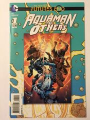 Futures End Aquaman and Others Lenticular Cover