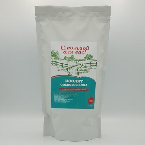 Изолят соевого белка С ПОЛЬЗОЙ ДЛЯ ВАС, 500 гр