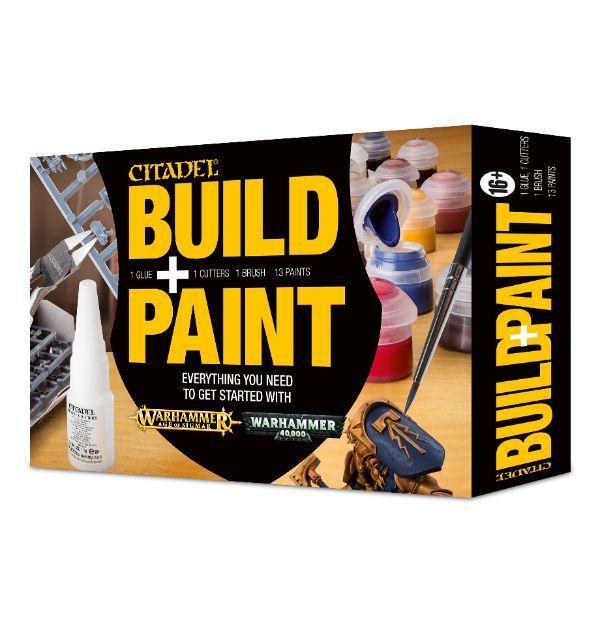 Citadel Build + Paint Set