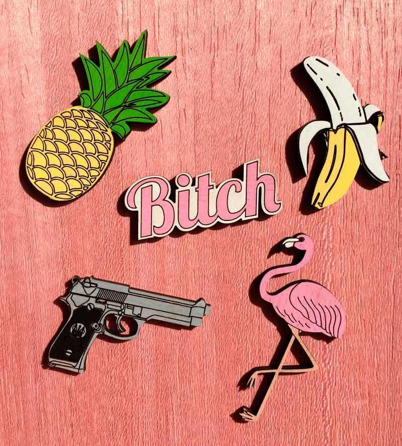 Брошь Фламинго от Yes Please