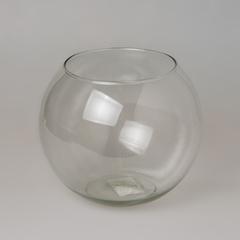 Простое стекло шаровая ваза 1л 2066