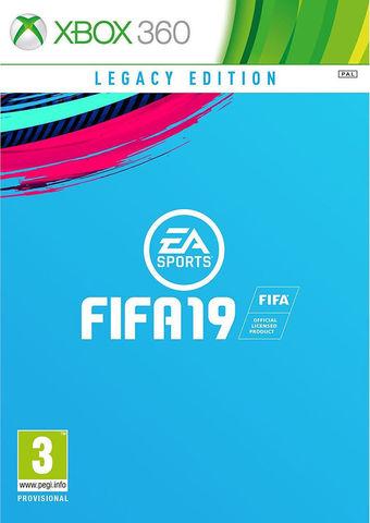 Microsoft Xbox 360 FIFA 19. Legacy Edition (русская версия)