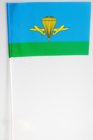 Флажок ВДВ России 15х23 см на палочке
