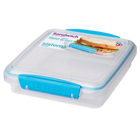 Контейнер для сэндвичей TO-GO 450 мл, артикул 21647, производитель - Sistema