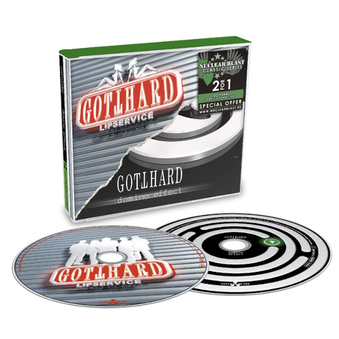 Gotthard ‎/ Lipservice, Domino Effect (2CD)