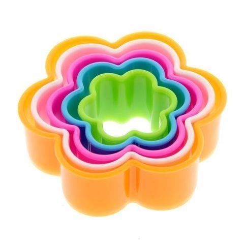 Набор форм для печенья «Цветок», 5шт.