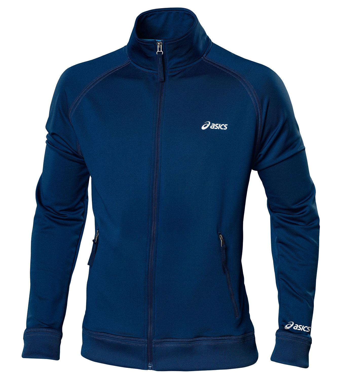 Мужская толстовка Asics Track Jacket (421900 0891) темно-синяя