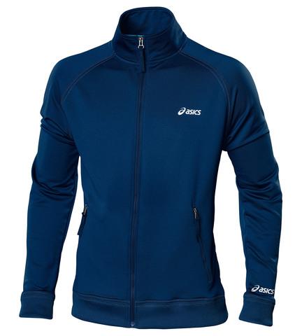 Толстовка Asics Track Jacket мужская темно-синяя