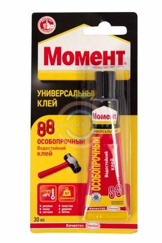 Клей МОМЕНТ-88 в шоубоксе 30 мл