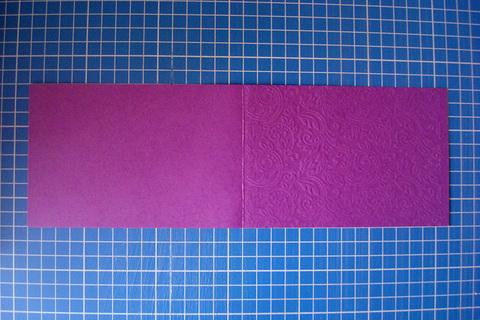 Заготовка для открытки «Узоры» 10х15 см, фиолетовый