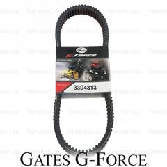 Ремень вариатора GATES G-Force 33G4313 1124 мм х 34 мм (BRP SKI-DOO 414827600)