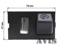 Камера заднего вида для Land Rover Freelander Avis AVS312CPR (#039)