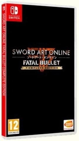 Nintendo Switch Sword Art Online: Fatal Bullet (английская версия)