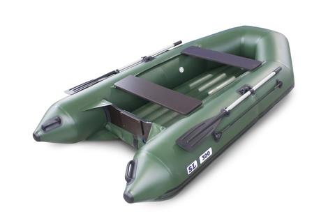 Надувная ПВХ-лодка Солар SL - 300 (зеленый)