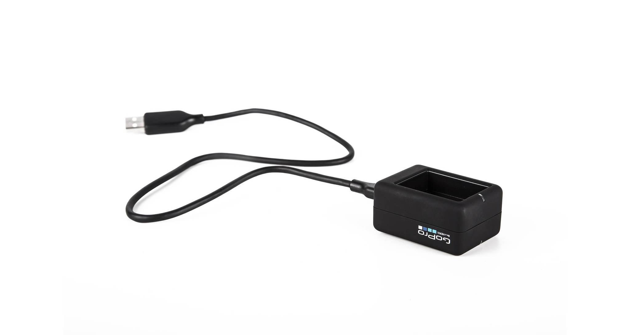 Зарядное устройство для 2-х аккумуляторных батарей Dual Battery Charger (AHBBP-301) с кабелем