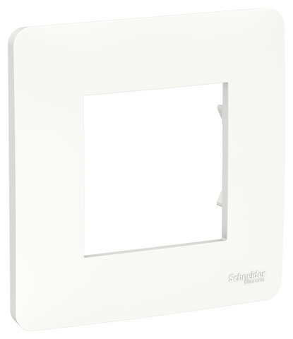 Рамка на 1 пост. Цвет Белый. Schneider Electric Unica Studio. NU200218