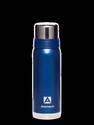 Термос Арктика (0,75 литра) с узким горлом американский дизайн, синий
