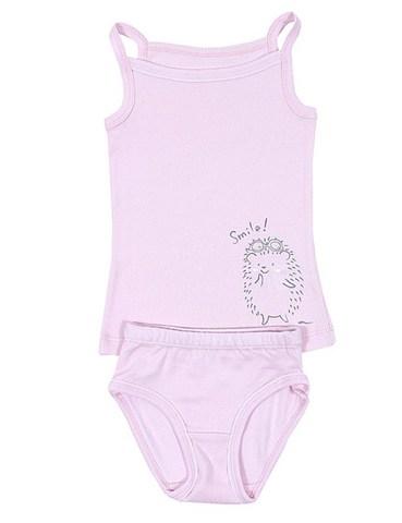 Basia Комплект для девочки К671-3941 розовый
