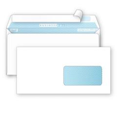 Конверты Белый E65стрип пр.окноBusinessPost 110х220 1000шт/уп/1960