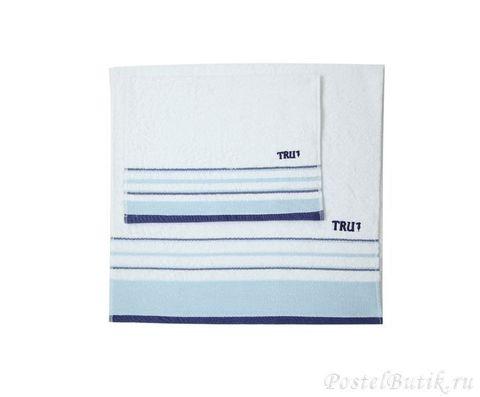 Набор полотенец 2 шт Trussardi Funny голубой