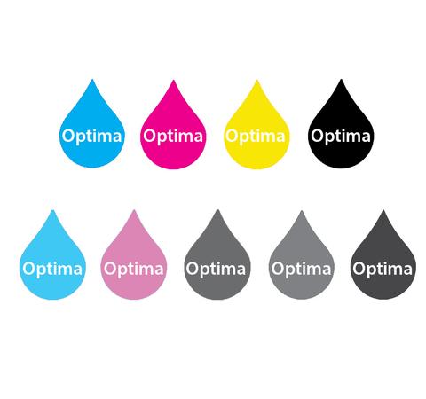 Комплект водорастворимых чернил Optima для Epson 9x250 мл