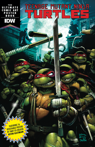 Teenage Mutant Ninja Turtles Ultimate Poster Book / Постербук Черепашки-Ниндзя