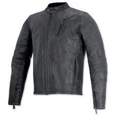 Monty Leather Jacket / Черный