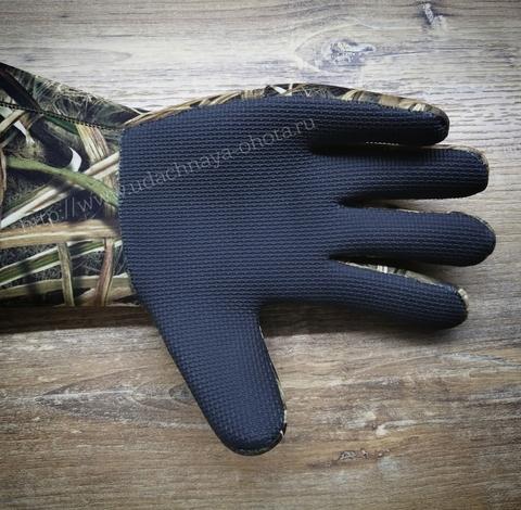 Неопреновые перчатки Flextone на флисовой подкладке