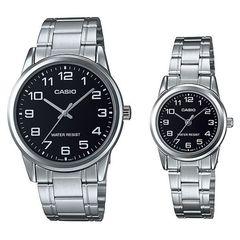 Парные часы Casio Standard: MTP-V001D-1BUDF и LTP-V001D-1BUDF