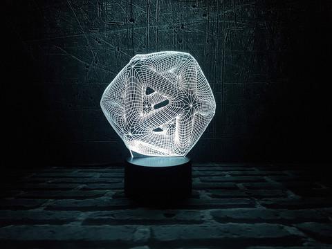 Лампа Абстракция 9